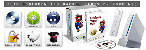 unlock wii homebrew